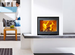 Fireplace inserts from Contura