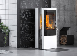 Wood burning stoves from Contura